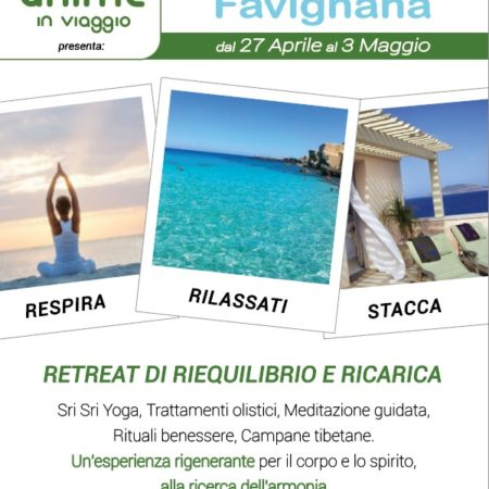 IN SOSPESO – WELLNESS VIBRATIONS Favignana – Retreat 2020